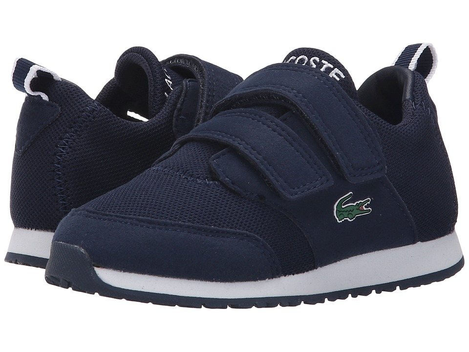 Lacoste Kids - L.ight 116 1 SP16 (Toddler/Little Kid) (Navy) Kid