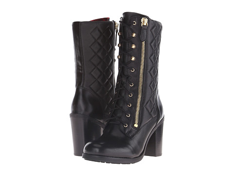 GUESS - Jacqui (Black Leather) Women