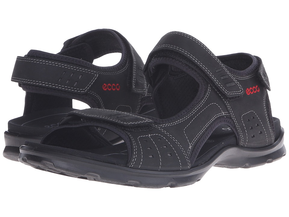 Ecco Performance - Utah Sandal (Black) Men's Sandals