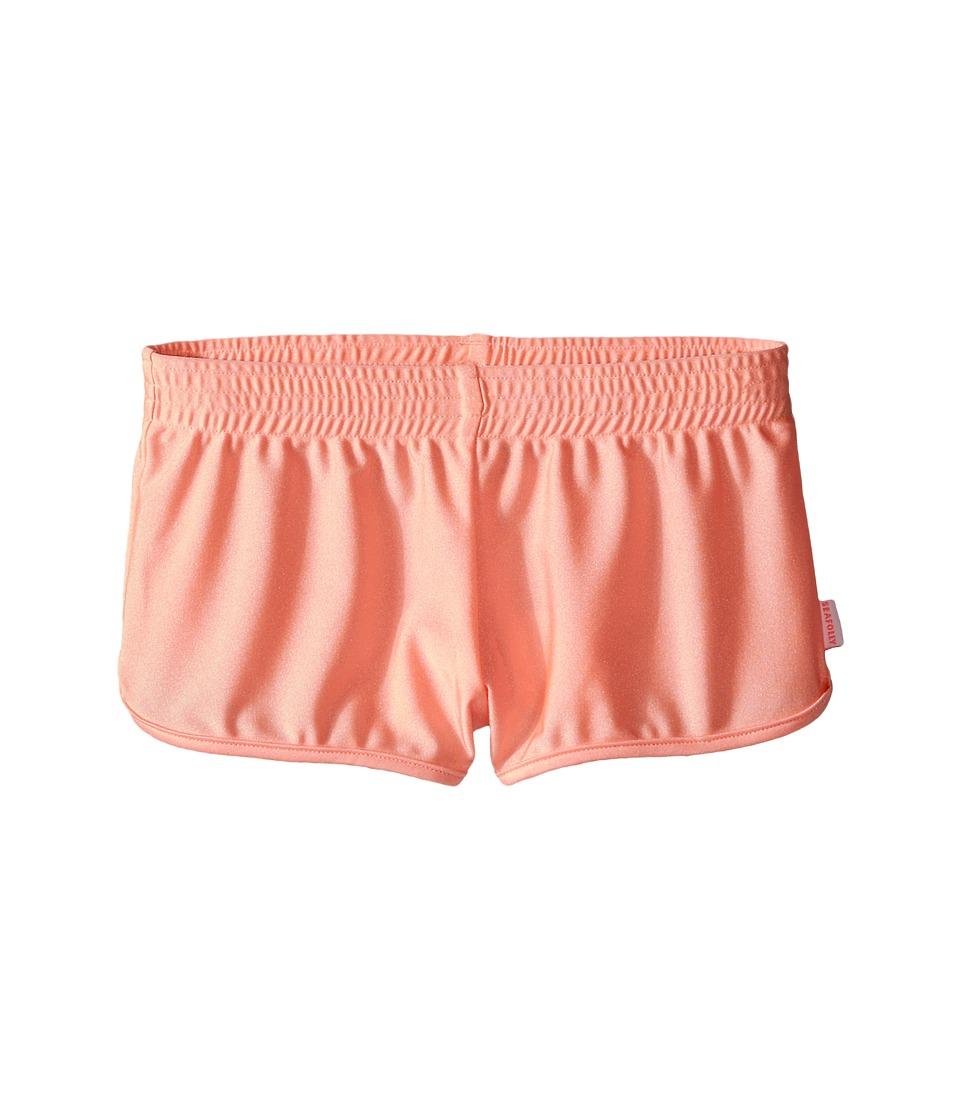 Seafolly Kids - Pool Party Scoop Boardie (Little Kids/Big Kids) (FluroMelon) Girl's Swimwear