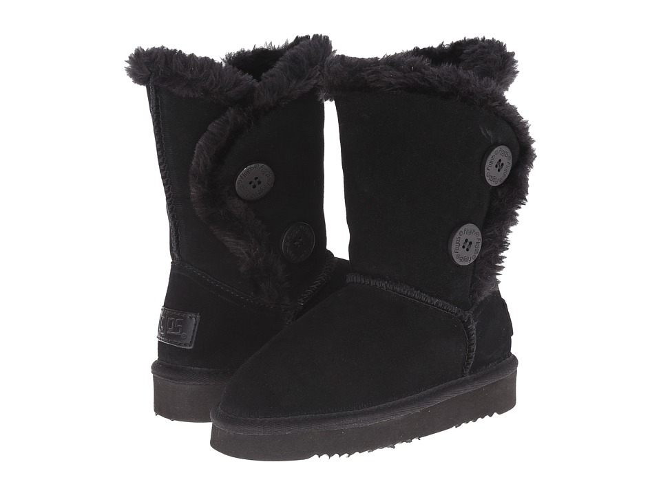 Flojos Kids - Holly (Little Kid/Big Kid) (Black) Girls Shoes