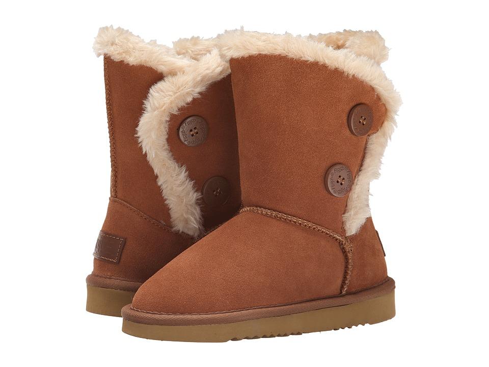 Flojos Kids - Holly (Little Kid/Big Kid) (Chestnut) Girls Shoes