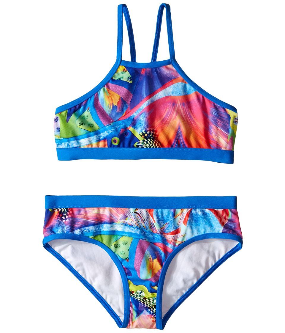 Seafolly Kids - Tagged Tankini (Little Kids/Big Kids) (Multi) Girl's Swimwear