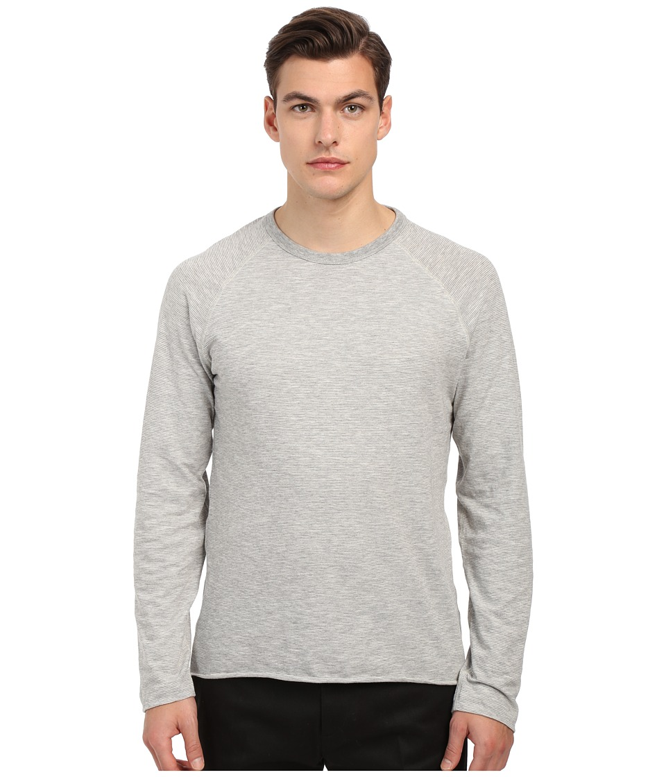 Billy Reid - Indian Crew Neck (Light Grey) Men's T Shirt
