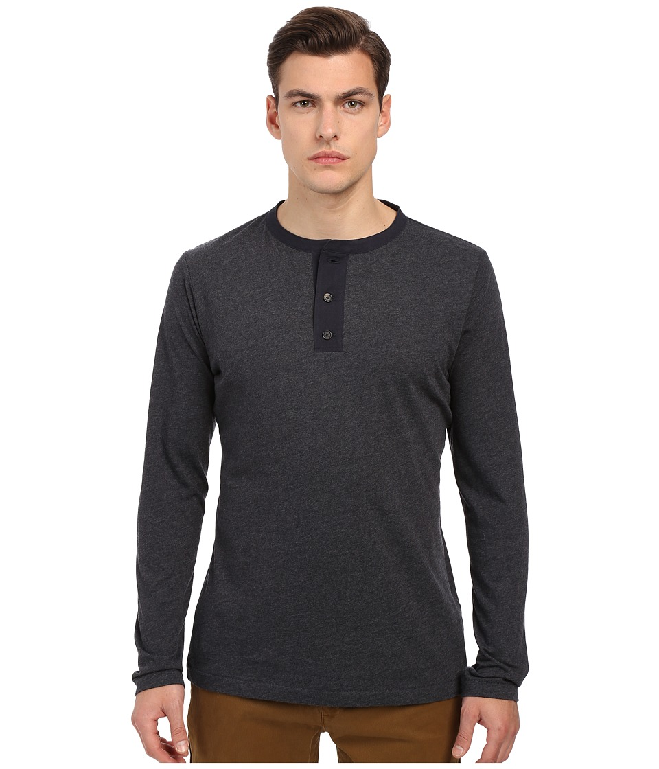 Billy Reid - Sanders Henley (Navy) Men's T Shirt