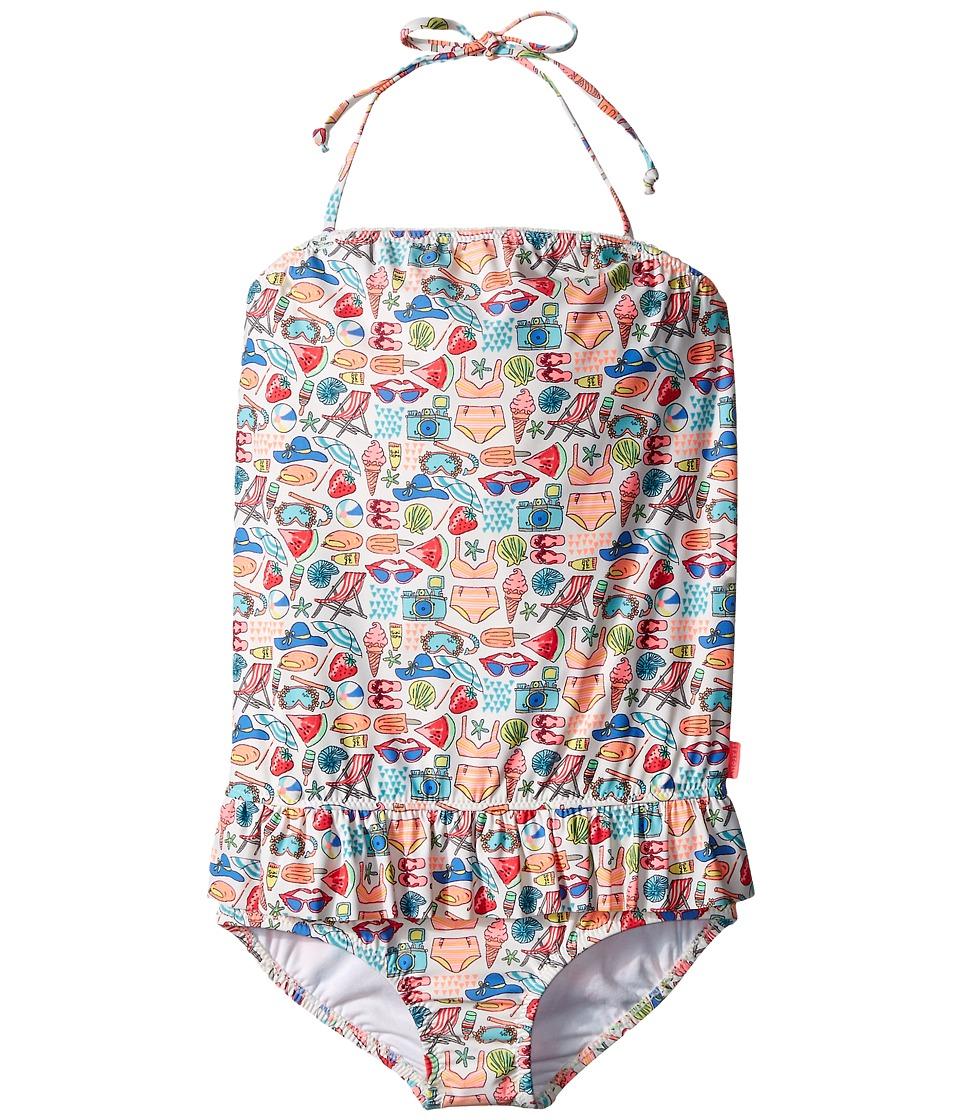 Seafolly Kids - Seaside Lane Blouson Tank Top (Infant/Toddler/Little Kids) (Multi) Girl's Swimwear