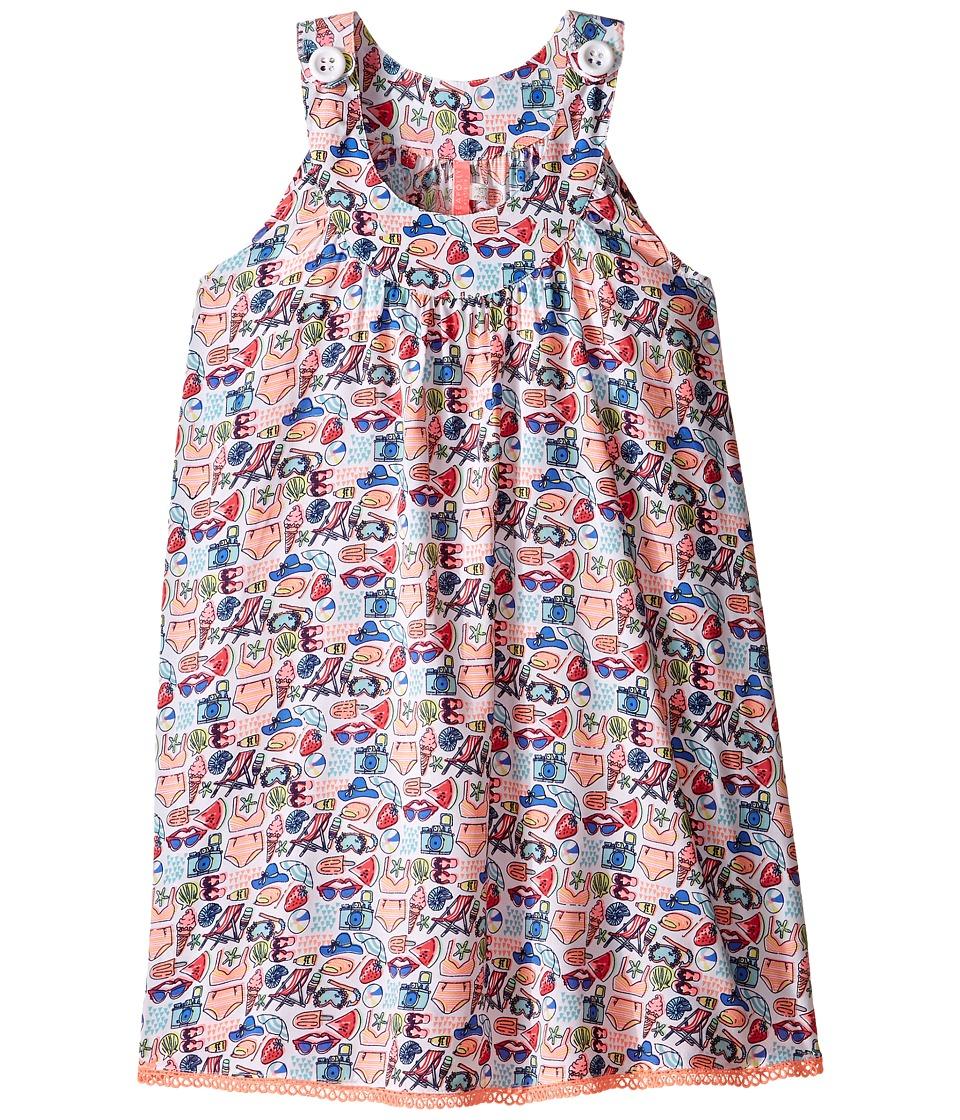 Seafolly Kids - Beach Party Dress (Toddler/Little Kids) (Multi) Girl's Dress