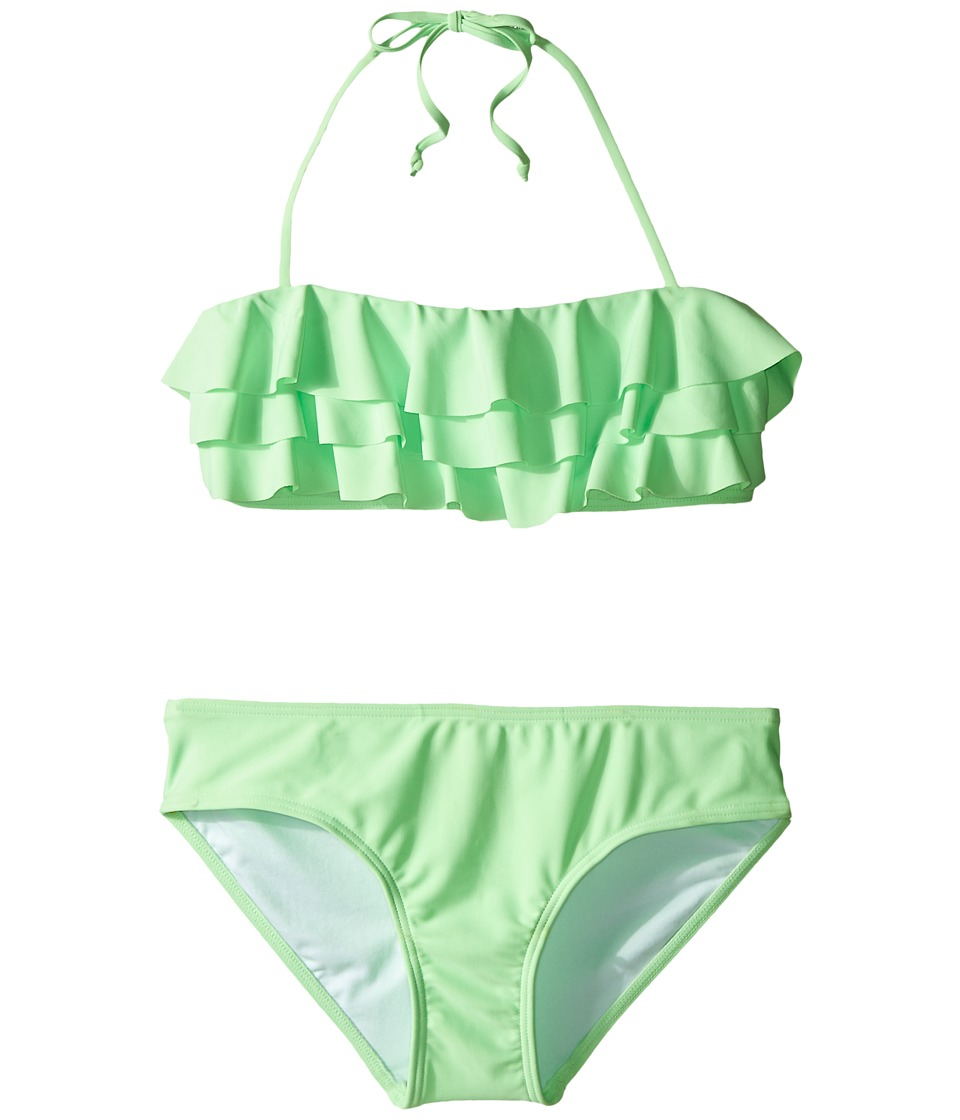 Seafolly Kids - Summer Daze Mini Tube Bikini (Little Kids/Big Kids) (Spring Green) Girl's Swimwear