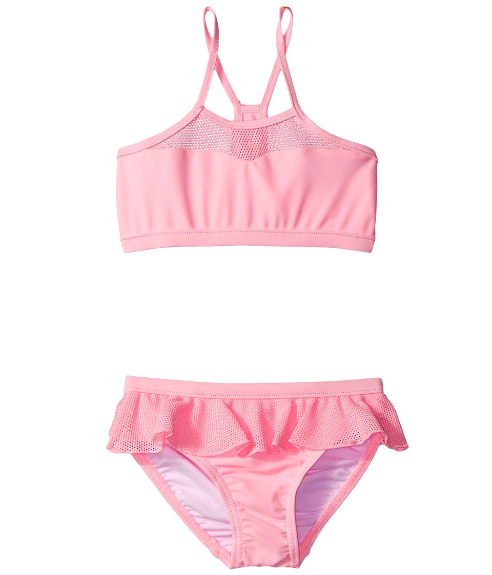 Seafolly Kids Peekaboo Tankini (Infant/Toddler/Little Kids) (Carnation Pink) Girl
