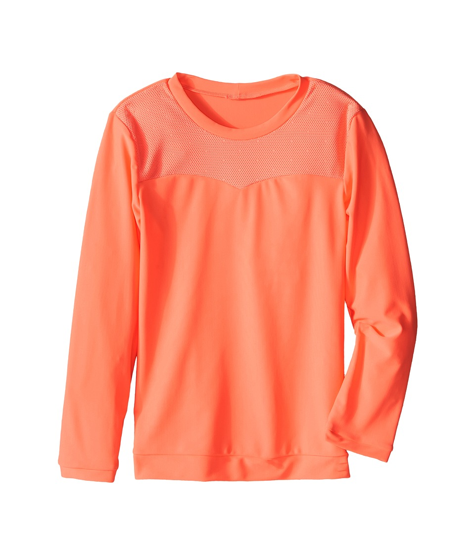 Seafolly Kids Peekaboo Long Sleeve Rashguard (Infant/Toddler/Little Kids) (Rockmelon) Girl