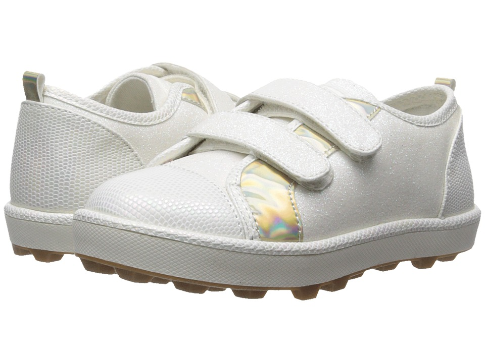Stuart Weitzman Kids - Ariana HL (Toddler/Little Kid) (White) Girl's Shoes