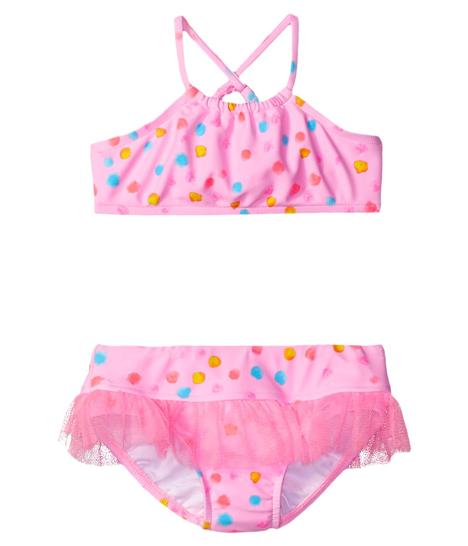 Seafolly Kids - Spring Bloom Tankini (Infant/Toddler/Little Kids) (Multi Spot) Girl's Swimwear