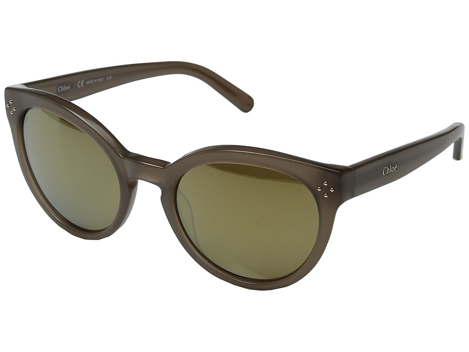 Chloe - Boxwood Round (Turtledove) Fashion Sunglasses