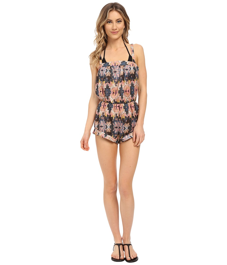 Image of Beach Riot - Phoenix Romper Cover-Up (Mojave) Women's Jumpsuit & Rompers One Piece