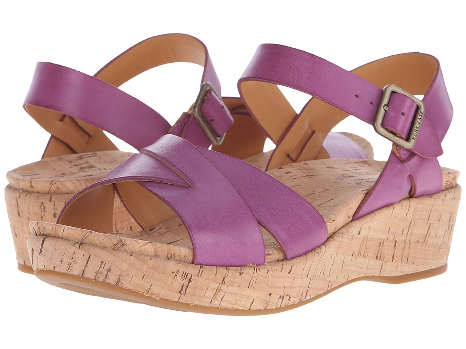 Kork-Ease - Myrna 2.0 (Orchid (Fuchsia)) Women's Wedge Shoes