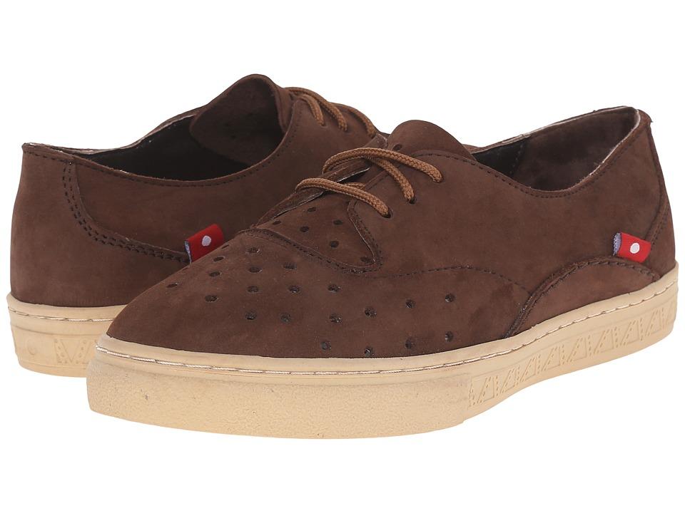 Oliberte - Lunada (Natural Brown Nubuck) Women's Shoes