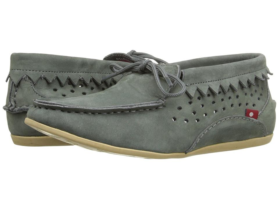 Oliberte - Buduri (Dark Grey Nubuck) Women's Shoes
