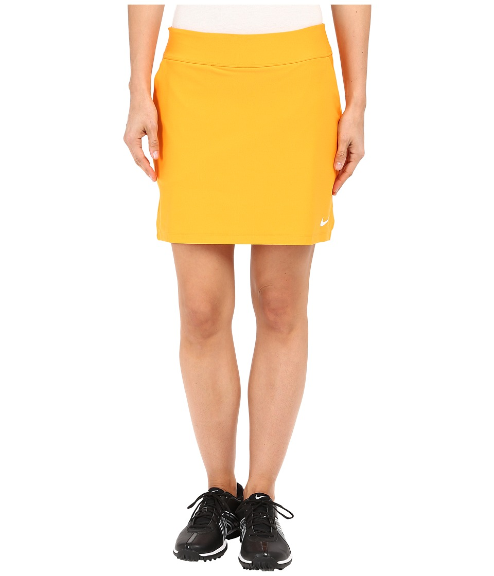 Nike Golf - Tournament Knit Skort (Vivid Orange/White) Women's Skort