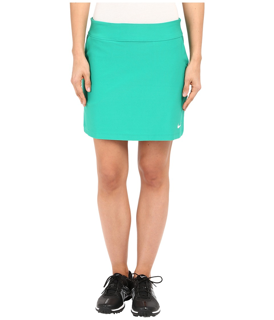 Nike Golf - Tournament Knit Skort (Lucid Green/White) Women's Skort