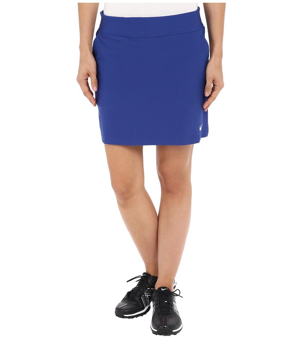Nike Golf - Tournament Knit Skort (Deep Royal Blue/White) Women's Skort