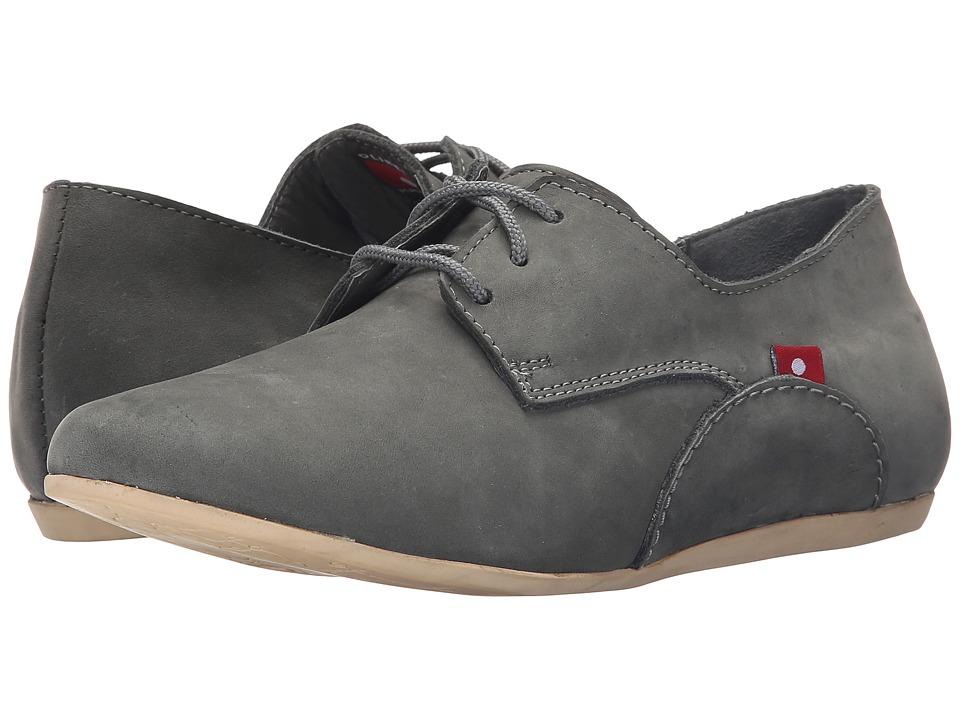 Oliberte - Minsha (Dark Grey Nubuck) Women's Shoes