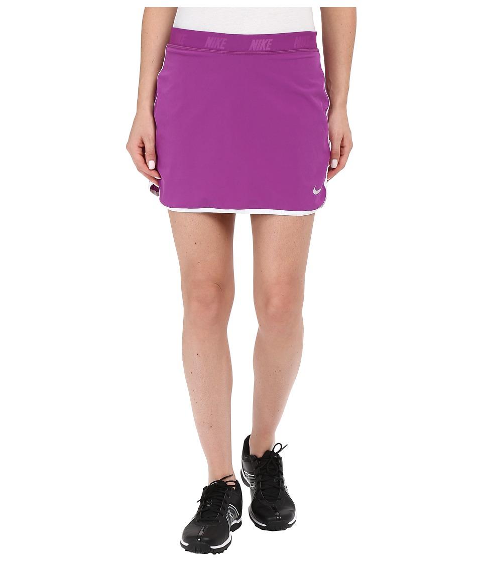 Nike Golf Fringe Flip Skort (Cosmic Purple/Metallic Silver) Women