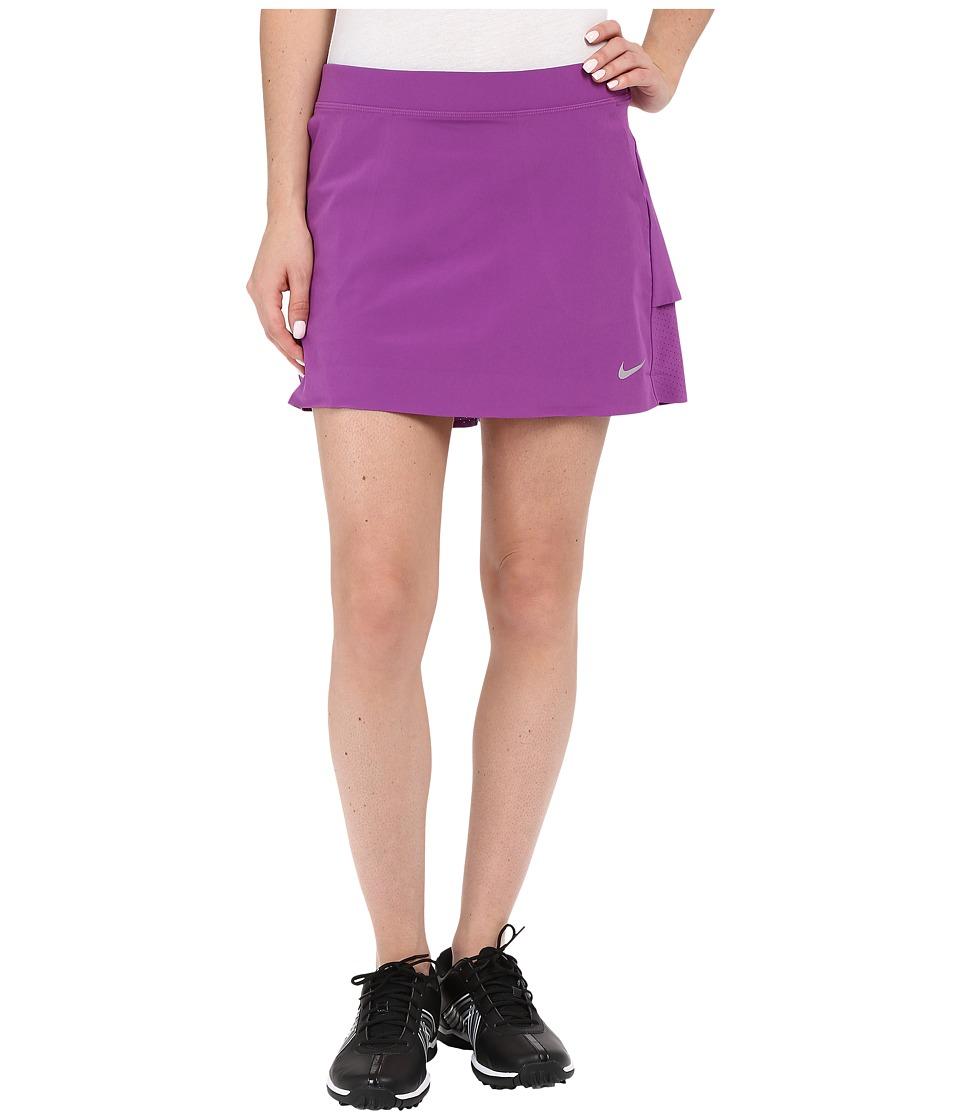 Nike Golf - Innovation Links Woven Skort (Cosmic Purple/Metallic Silver) Women's Skort