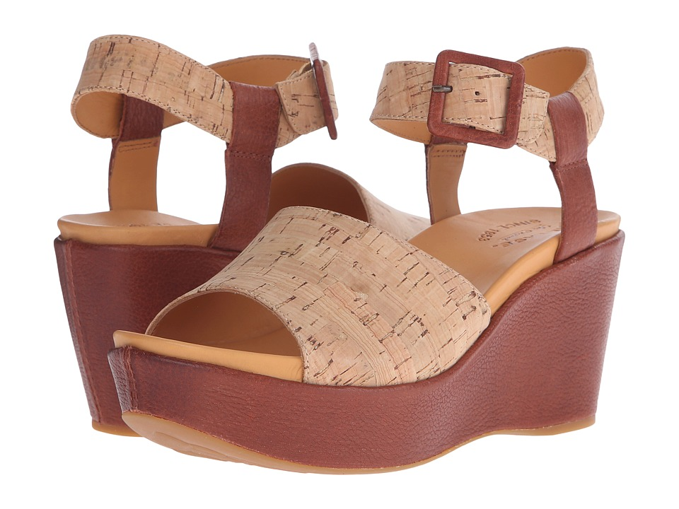 Kork-Ease - Keirn (Brown/Cork) Women's Wedge Shoes
