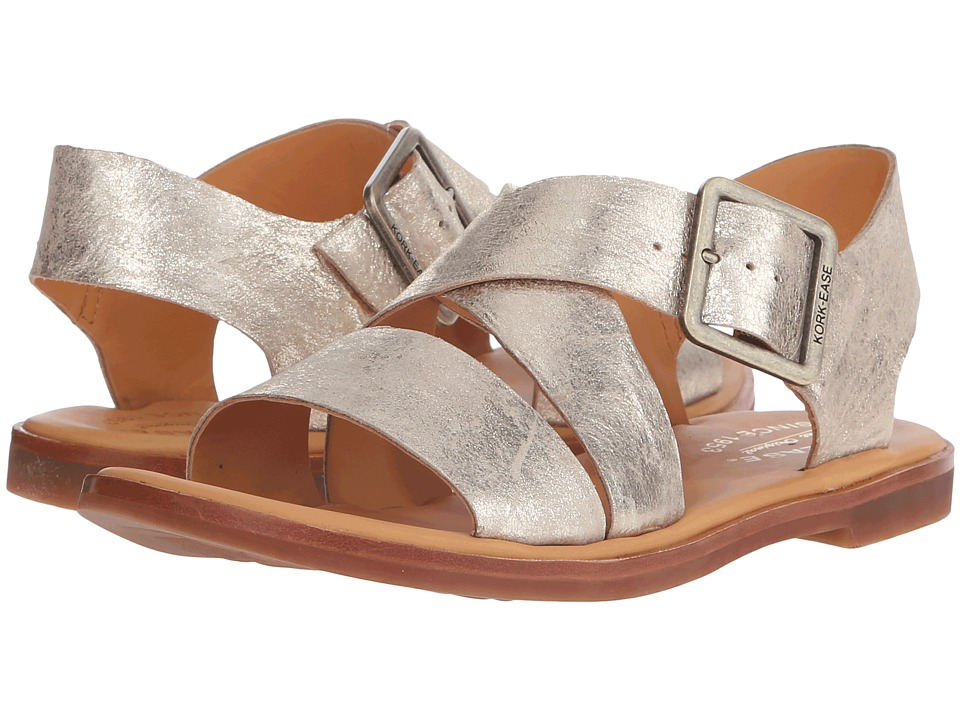 Kork-Ease - Nara (Gold) Women's Sandals