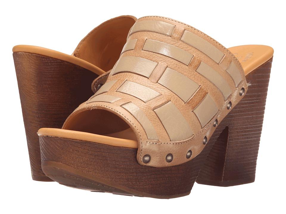 Kork-Ease - Charissa (Tan/Off-White) High Heels