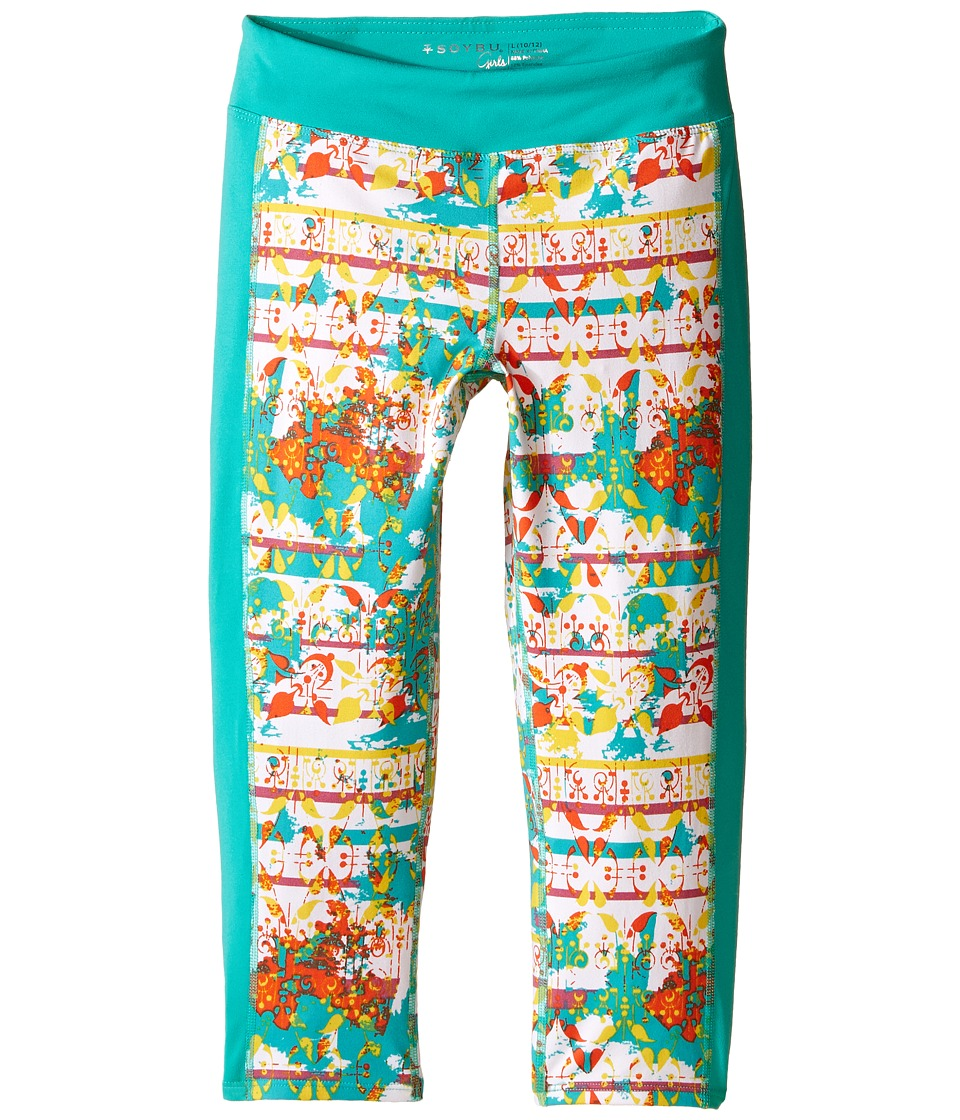 Soybu Kids - Naomi Capris (Little Kids/Big Kids) (Wallpaper) Girl's Capri