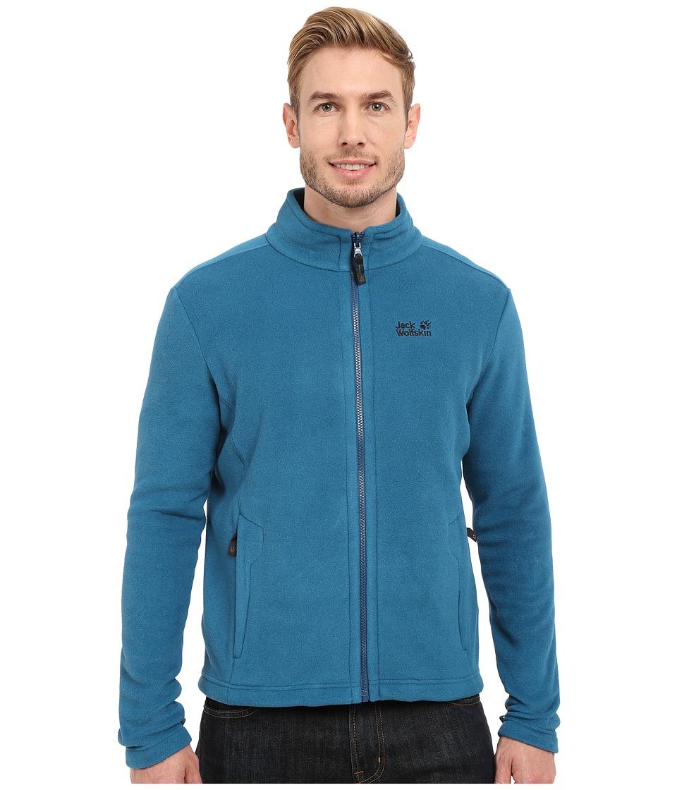 Jack Wolfskin - Moonrise Jacket (Moroccan Blue) Men's Coat