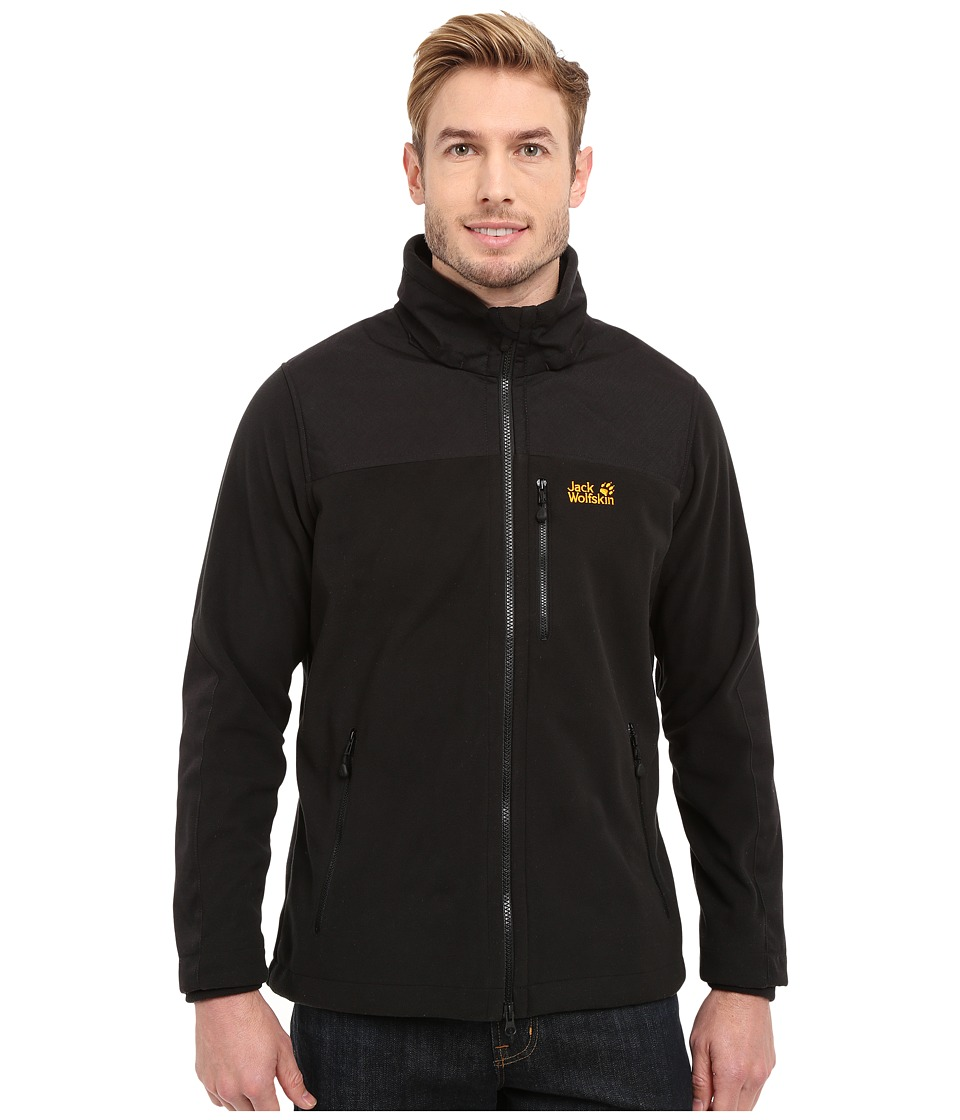 Jack Wolfskin Blizzard Jacket (Black) Men