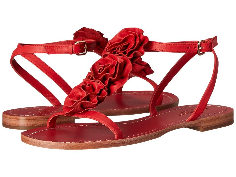 Kate Spade New York - Caryl (Maraschino Red Soft Vacchetta) Women's Dress Sandals