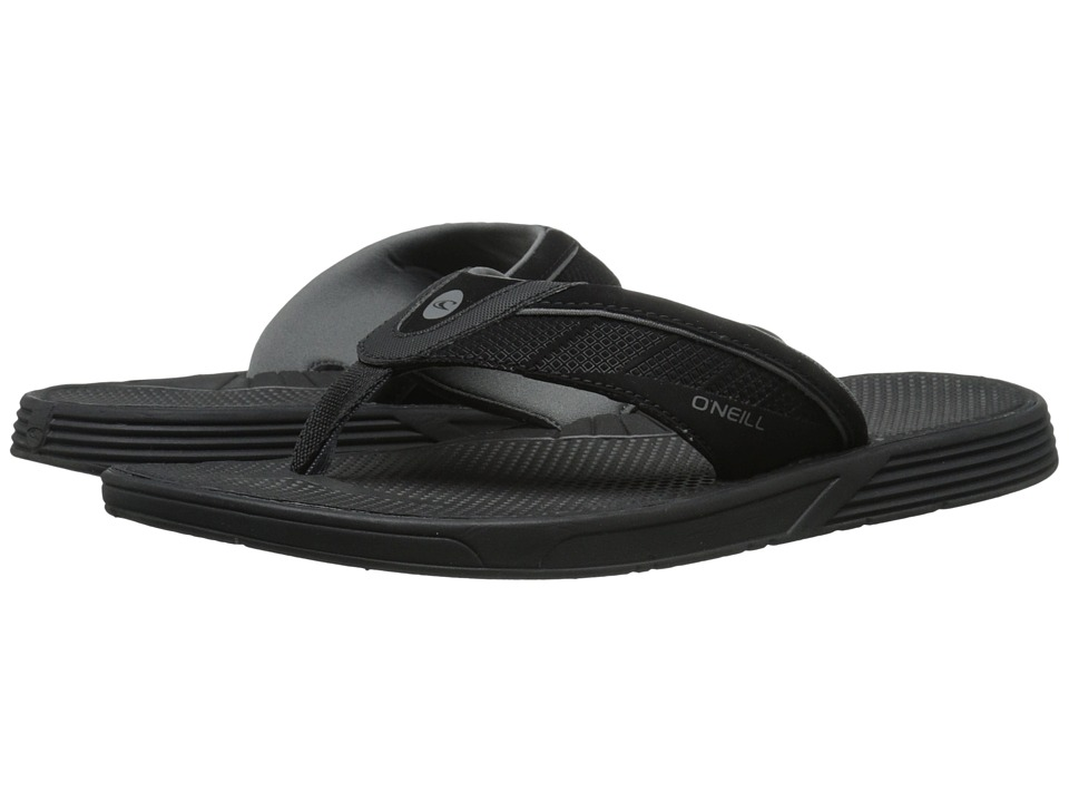 O'Neill - Hyperfreak (Black) Men's Sandals