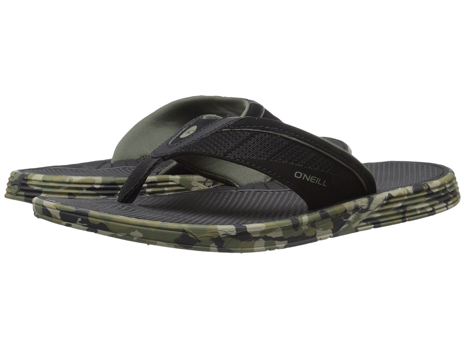 O'Neill - Hyperfreak (Camo Print) Men's Sandals