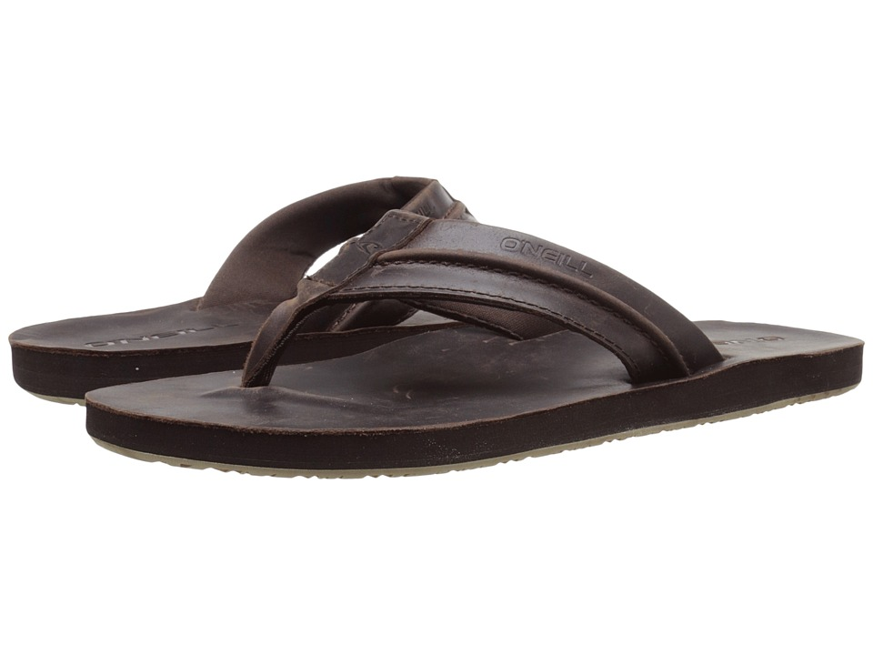 O'Neill - Captain Jack (Dark Brown) Men's Sandals