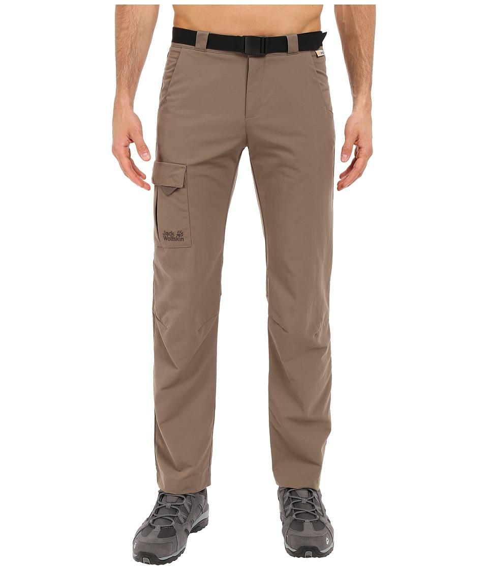 Jack Wolfskin - Canvas Safari Pants (Siltstone) Men's Casual Pants
