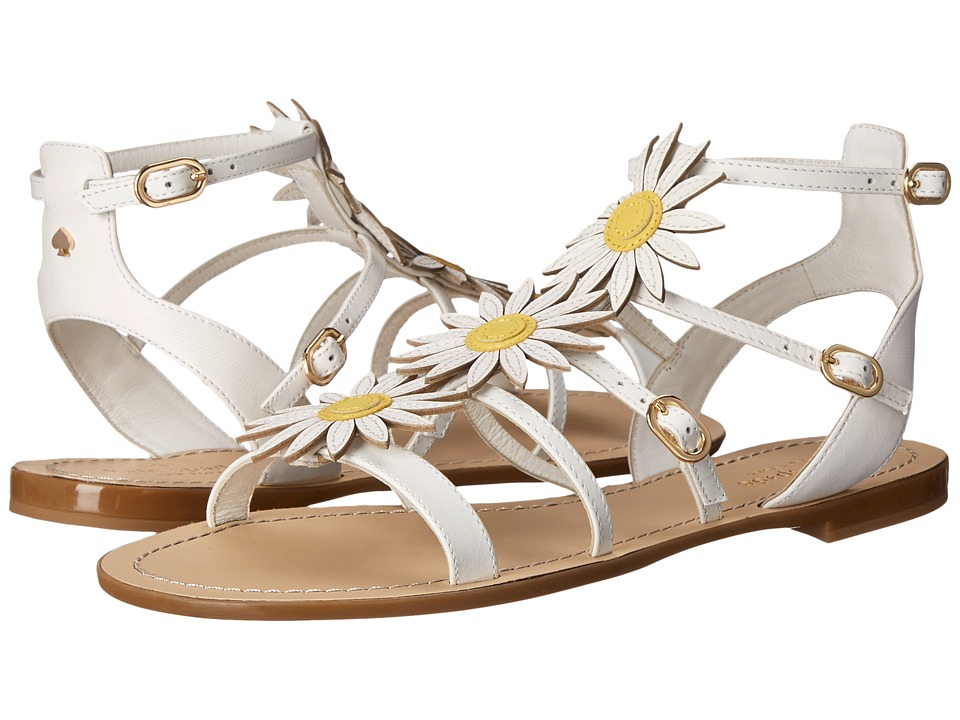 Kate Spade New York - Collin (White Vacchetta) Women's Shoes