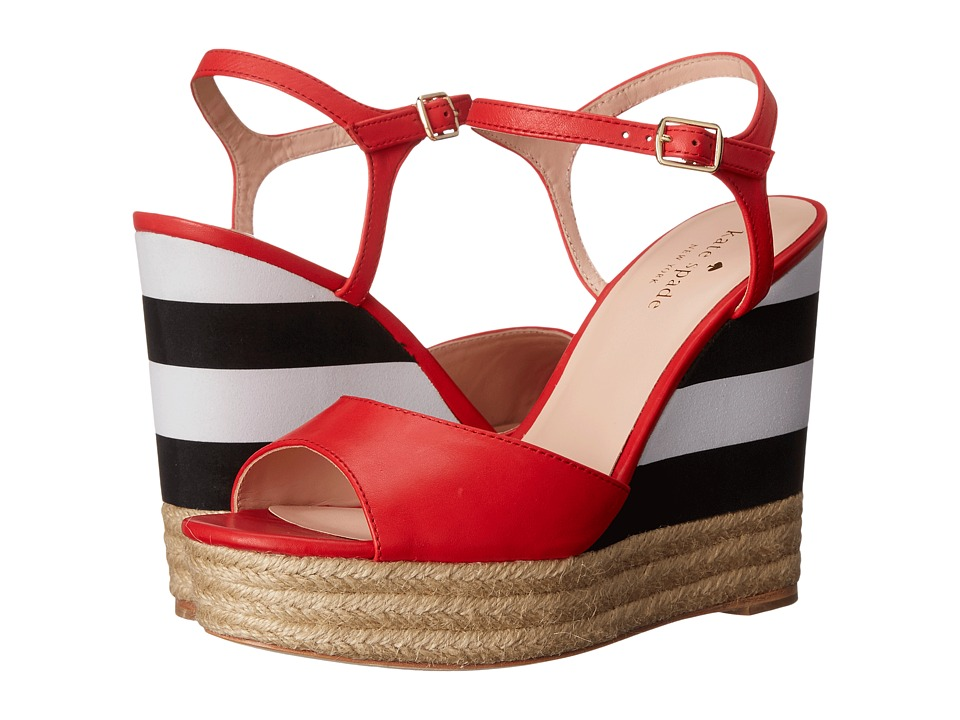 Kate Spade New York - Deanne (Maraschino Red Vacchetta) Women's Shoes