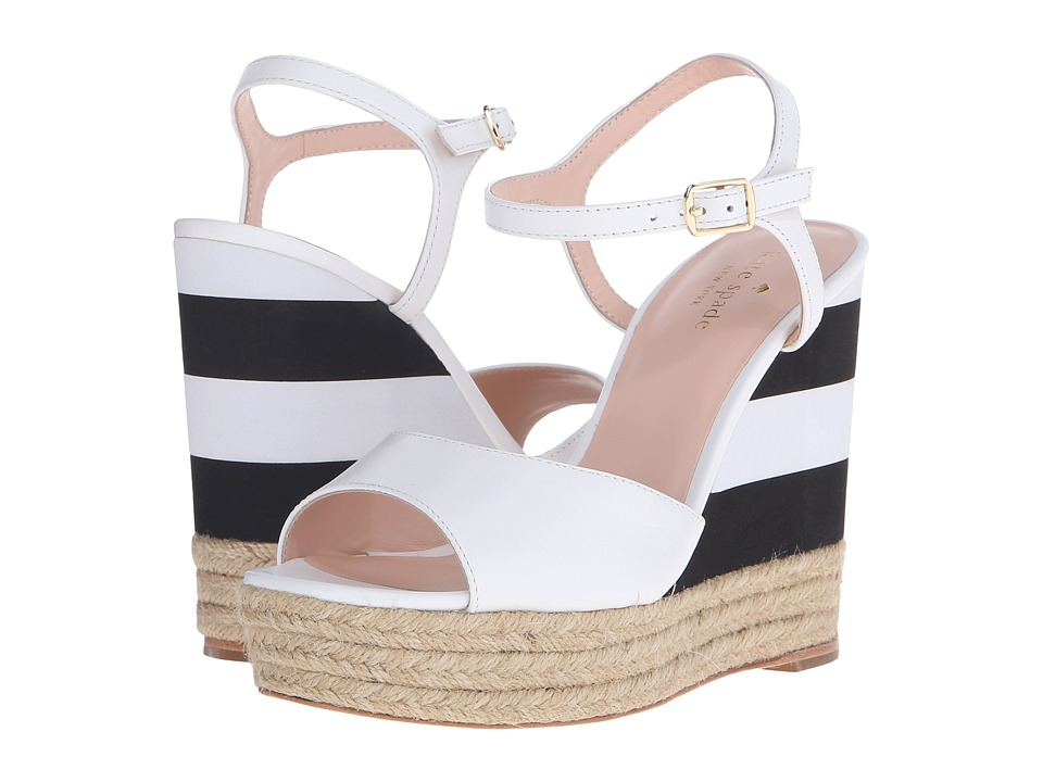 Kate Spade New York - Deanne (White Vacchetta) Women's Shoes