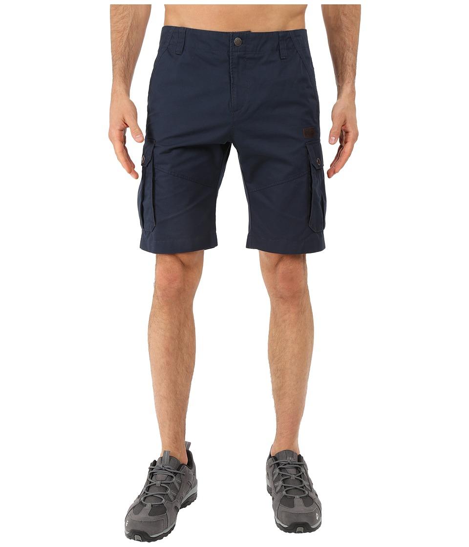 Jack Wolfskin - Kampala Shorts (Night Blue) Men's Shorts