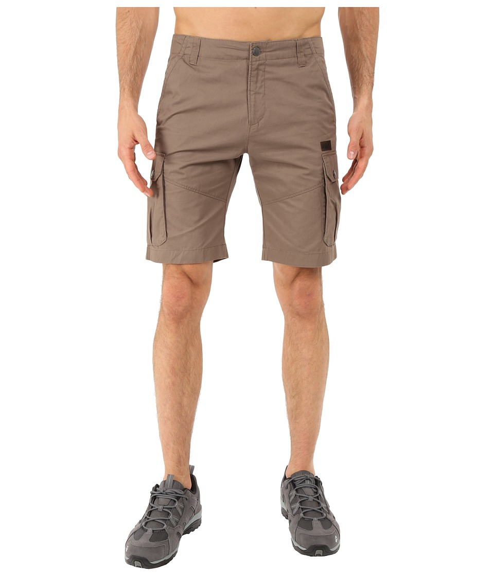 Jack Wolfskin - Kampala Shorts (Siltstone) Men's Shorts