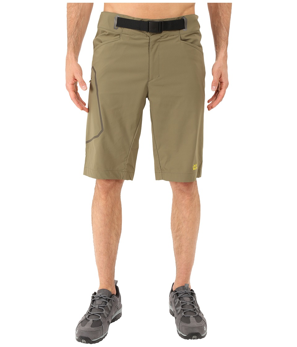 Jack Wolfskin - Rock Shorts (Burnt Olive) Men's Shorts