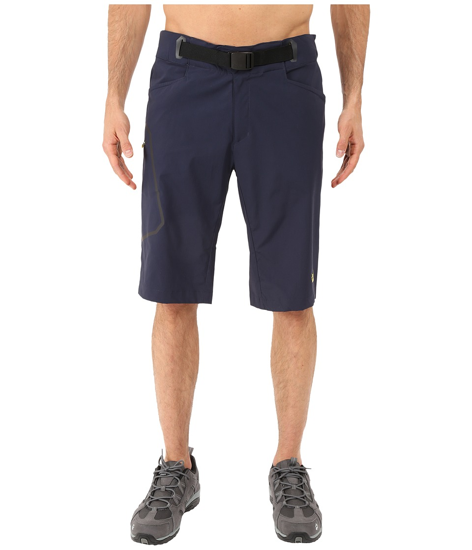 Jack Wolfskin - Rock Shorts (Night Blue) Men's Shorts
