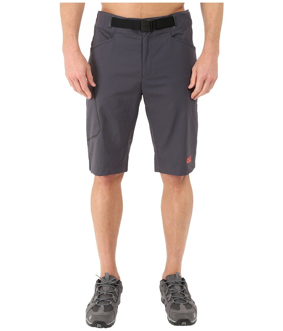 Jack Wolfskin - Rock Shorts (Ebony) Men's Shorts