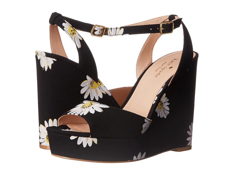 Kate Spade New York Dellie (Black Falling Daisy Printed Fabric) Women