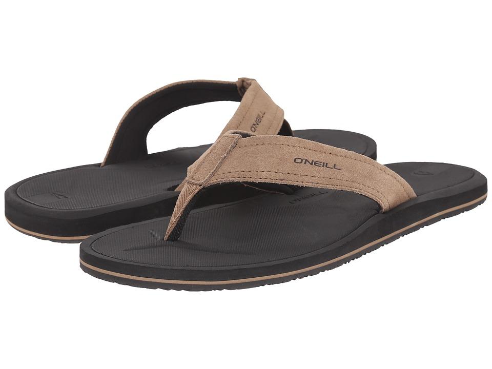 O'Neill - Nacho Libre Suede (Tan) Men's Sandals