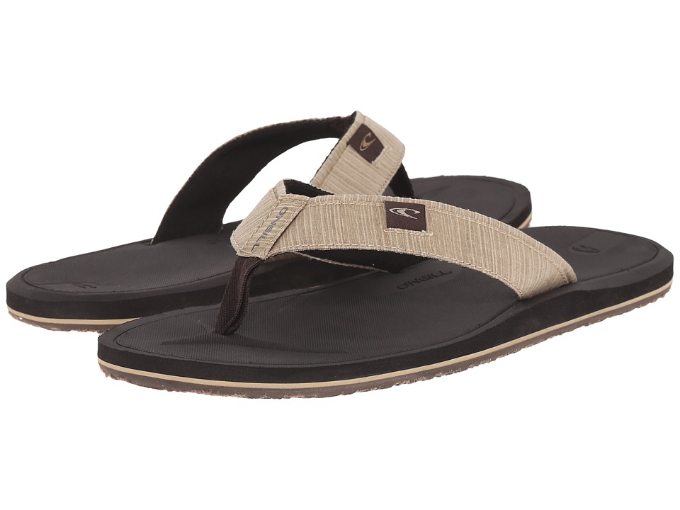 O'Neill - Nacho Libre (Dark Brown) Men's Sandals
