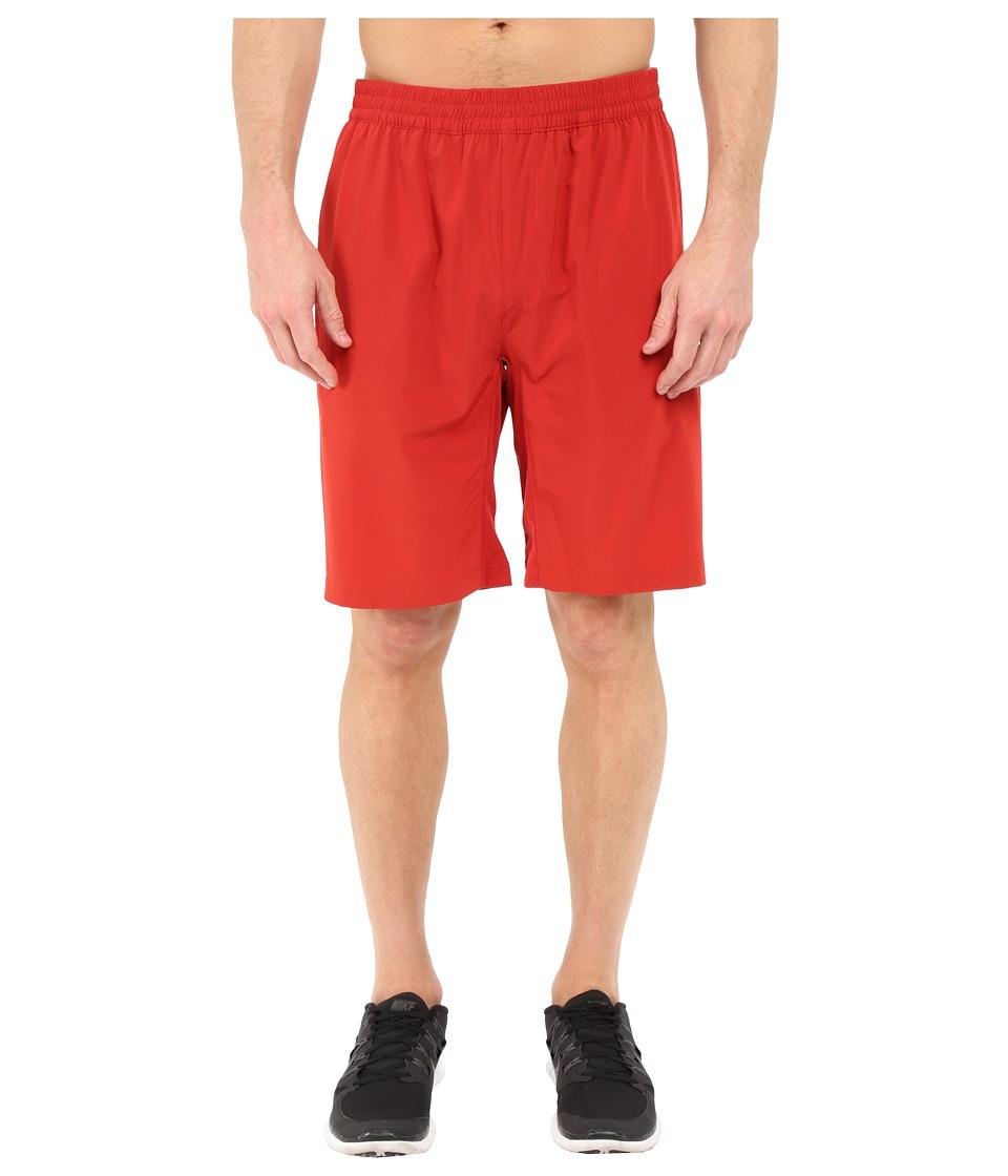 TravisMathew RED Hoffman Shorts (Pompeian Red) Men